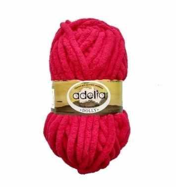 Пряжа Adelia Dolly 09 красный