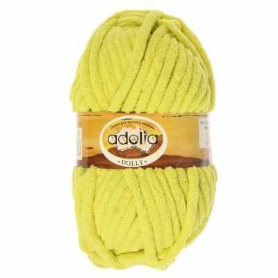 Пряжа Adelia Dolly 30 желто-зеленый