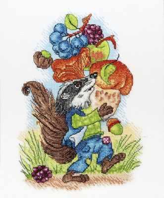 Набор для вышивания Alisena 5109 Барсук