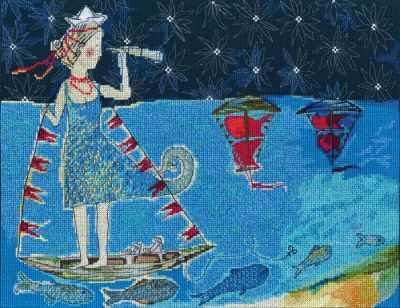 Набор для вышивания РТО M698 - Алые паруса махаон алые паруса а грин machaon