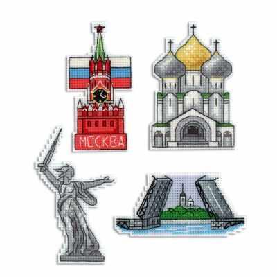 Набор для вышивания МП Студия Р-308 Россия. Магниты