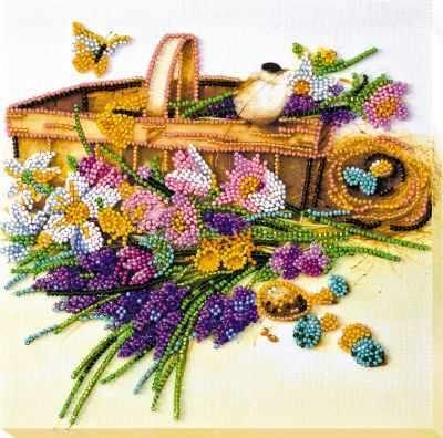 Набор для вышивания Абрис Арт АМВ-024 Ранние цветочки