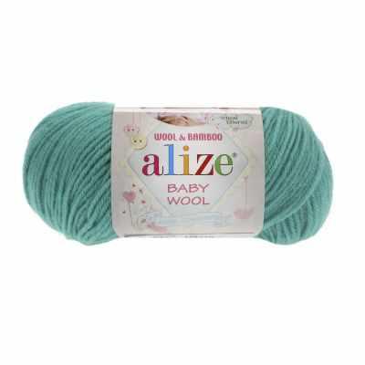 Пряжа Alize Пряжа Alize Baby Wool Цвет.610 Изумруд