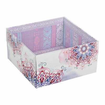 2537580 Коробка для кондитерских изделий «Хорошего настроения!»
