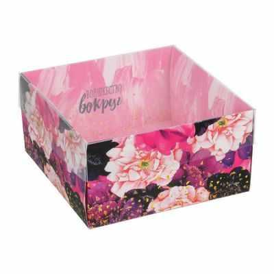 Упаковка для выпечки - 3506929 Коробка для кондитерских изделий «Волшебство вокруг»