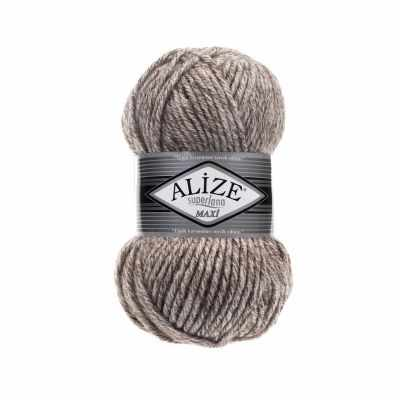 Пряжа Alize Superlana Maxi Цвет.803 Молочно-коричневый