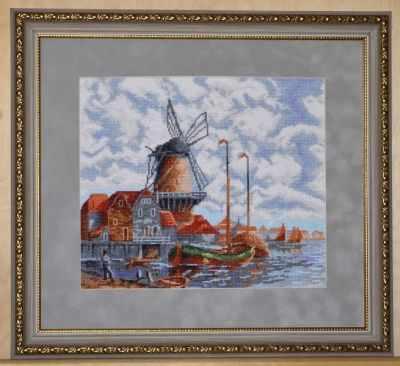 07.018 Голландский пейзаж (Палитра)