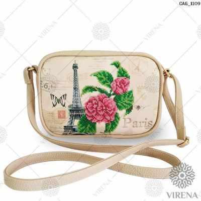 Набор для вышивания VIRENA САБ_1109 Набор для вышивания на сумке. Бежевый. Париж