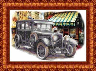 Основа для вышивания с нанесённым рисунком Каролинка КБП 3048 Skoda Suisa - схема для вышивания (Каролинка)