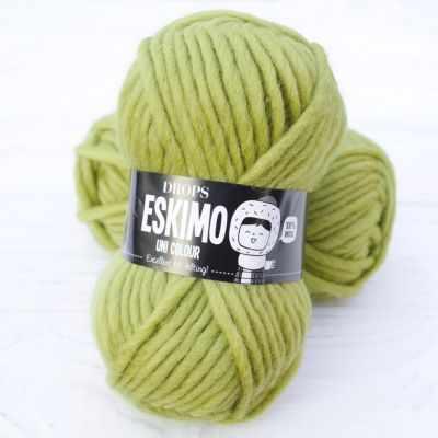 Пряжа DROPS Пряжа DROPS Eskimo Цвет.35 Фисташковый