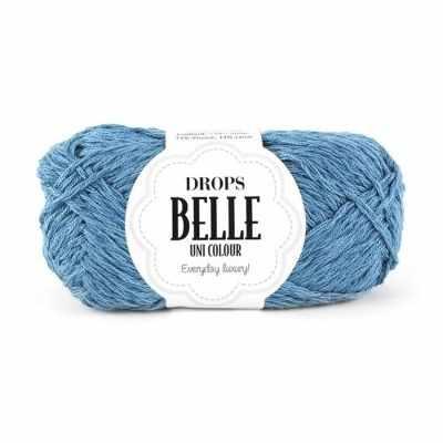 Пряжа DROPS Пряжа DROPS Belle Цвет. 13 Серый джинс