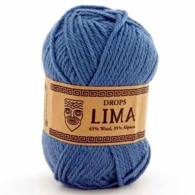 Пряжа DROPS Пряжа DROPS Lima Цвет.6235 Светлый джинс