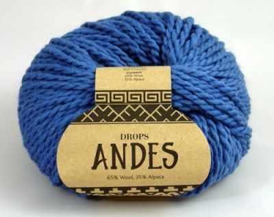 Пряжа DROPS Пряжа DROPS Andes Цвет.6295 Джинс
