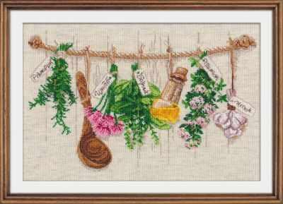 Набор для вышивания Овен 1079 Душистые травы