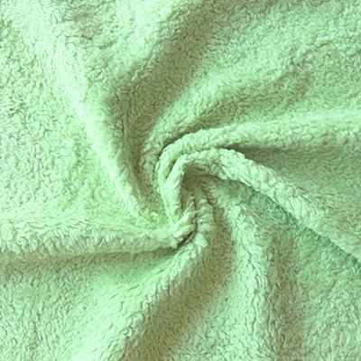 Мех для игрушек и рукоделия Россия Мех хлопок 400607 Цвет.Салатовый (50*75 см)