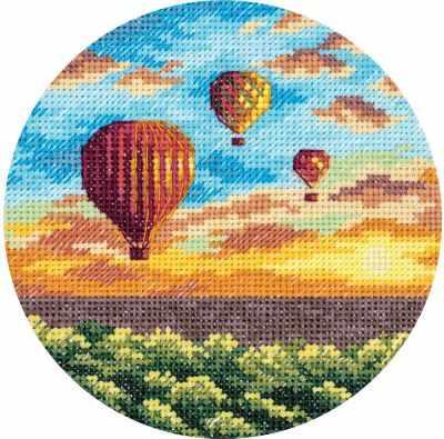 """PS-7059 """"Воздушные шары на закате"""""""