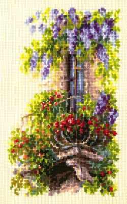 Фото - Набор для вышивания Чудесная игла 74-05 Балкон возлюбленной чудесная планета земля
