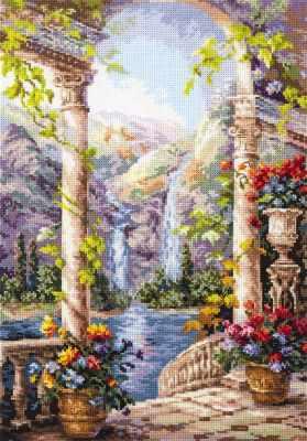 Набор для вышивания Чудесная игла 44-21 На острове мечты 1872 романтик чудесная игла чудесная игла