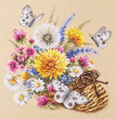 Набор для вышивания Чудесная игла 40-81 Луговые цветы 1872 романтик чудесная игла чудесная игла