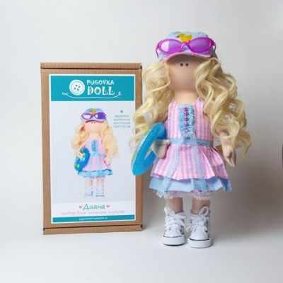 Набор для изготовления игрушки Pugovka Doll Набор Диана
