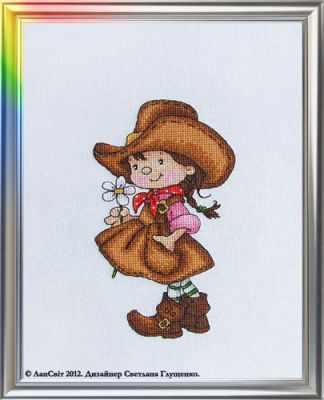 Набор для вышивания ЛанСвiт Д-041 Цветок прерий