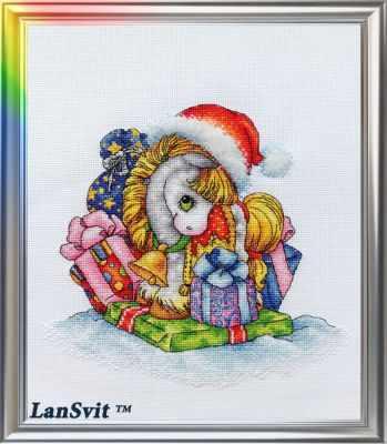 Набор для вышивания ЛанСвiт Д-047 Златоснежная лошадка