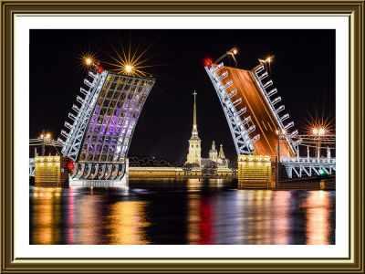 Набор для вышивания Nova Sloboda ДК 1105 Санкт-Петербург
