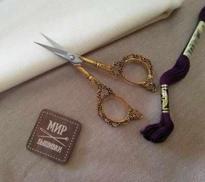 Ножницы - Винтажные ножницы №2 Золото