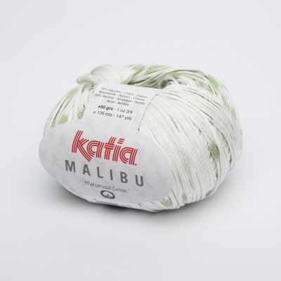 Пряжа Katia Пряжа Katia Maliby Цвет.1016.69 бел.св.зел.