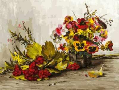 набор для живописи белоснежка прохлада в летний день 277 as 30 х 40 см Набор для рисования по номерам Белоснежка 267-AS Осень (Белоснежка)