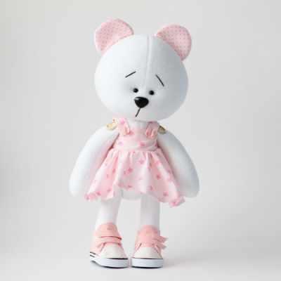 Набор для шитья мишки девочки