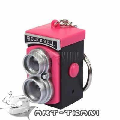 Заготовки и материалы для изготовления игрушки Арт Узор Ретро фотокамера для игрушек, розовая
