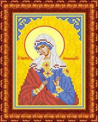 Основа для вышивания с нанесённым рисунком Каролинка КБИ 5089 Св.Виктория - схема для вышивания (Каролинка)