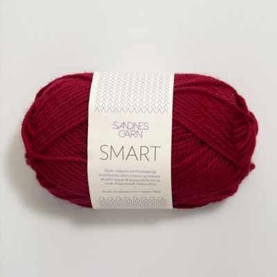 Пряжа SANDNES GARN Smart Цвет.4065 Красный