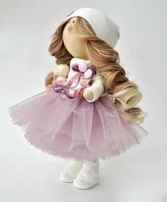 Набор для изготовления игрушки Милота Набор для изготовления кукол