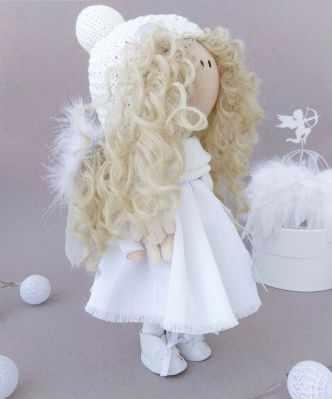 Набор для изготовления игрушки Милота Набор для изготовления кукол Ангел набор для изготовления игрушки милота набор для изготовления кукол амели