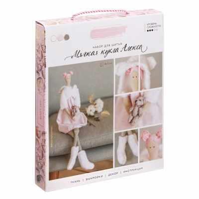 Набор для изготовления игрушки Арт Узор 3299322 Набор для шитья «Мягкая кукла Алекса» рюкзак bange bg1907 серый 15 6