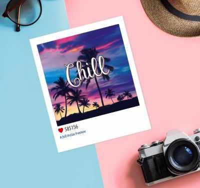 Открытка Дарите Счастье 3382672 Почтовая карточка в стиле инстаграм, «Релакс»