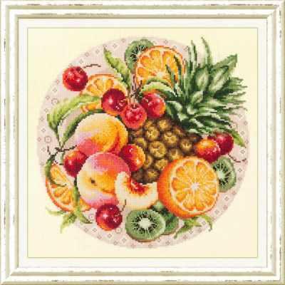 Набор для вышивания Чудесная игла 54-04 Экзотический микс 1872 романтик чудесная игла чудесная игла