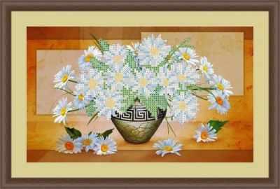 Основа для вышивания с нанесенным рисунком Матрёшкина КАЮ4082 Ромашки - схема для вышивания (Матрёшкина) основа для вышивания с нанесенным рисунком матрёшкина каю6016 лисичка