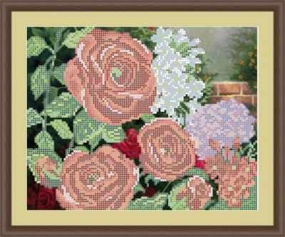 Основа для вышивания с нанесенным рисунком Матрёшкина КАЮ4083 Красные розы - схема для вышивания (Матрёшкина) основа для вышивания с нанесенным рисунком матрёшкина каю6016 лисичка