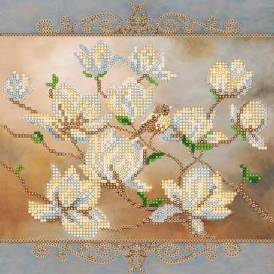 Основа для вышивания с нанесённым рисунком Абрис Арт АС-564 Птичечка - схема (Абрис Арт)
