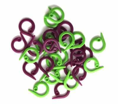 Аксессуар для вязания Knit Pro 10804 Маркеровочные кольца разомкнутые (24 шт) KnitPro