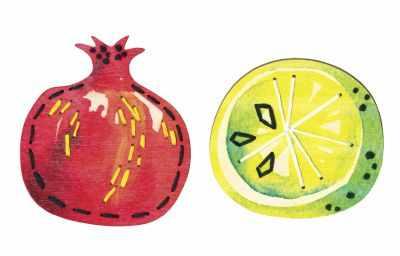 EHW016 Сочные фрукты