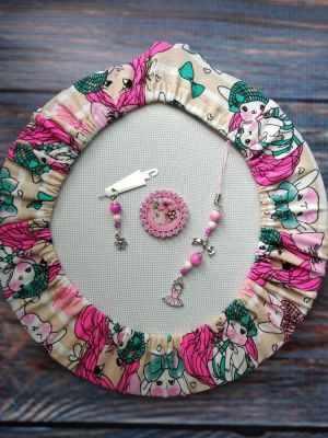 Набор аксессуаров Розовое платье