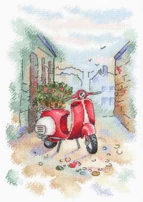 Набор для вышивания МП Студия А-010 Итальянский дворик