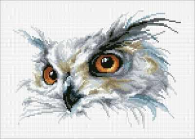 Купить со скидкой М363 Взгляд - мозаика (Паутинка)