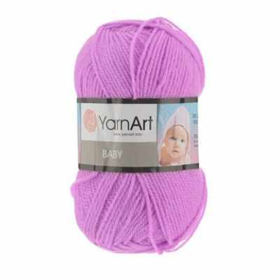 Пряжа YarnArt Пряжа YarnArt Baby Цвет.635 Светлая сирень