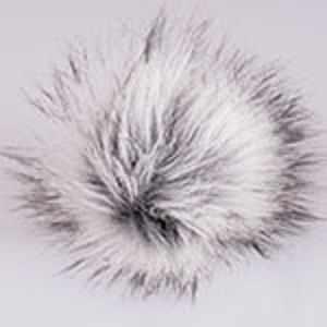 Помпон YarnArt Bobble Hat Цвет.23 Серо-белый