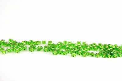 Бисер TOHO №0027 зеленый 10/0 круглый 2 2.4 мм